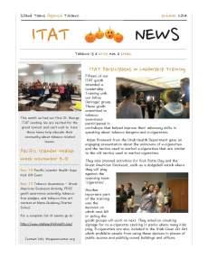 October ITAT 2014 Newsletter